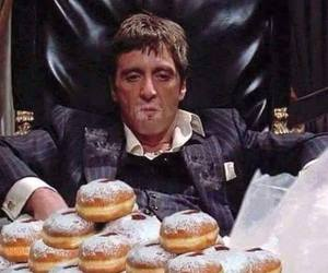 donuts, funny, and doughnuts image