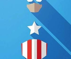 background, blue, and Marvel image