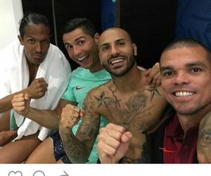cristiano ronaldo, gol, and pepe image