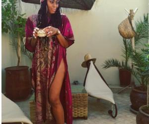 Afro, melanin, and black image