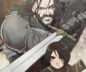 game of thrones, the hound, and stark image