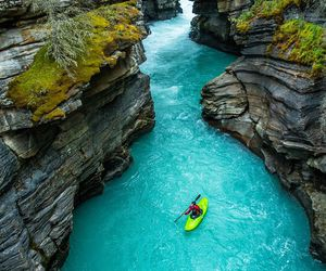 travel, blue, and water image
