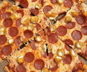 food, inspiration, and pizza image