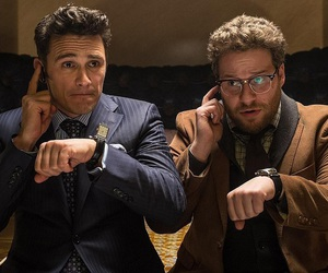 seth rogen, james franco, and the interview image