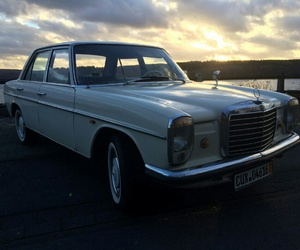 afternoon, mercedes, and oldtimer image