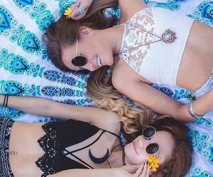 summer, besties, and coachella image