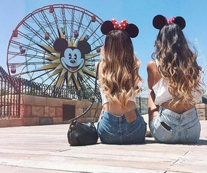 bff, friends, and disney image