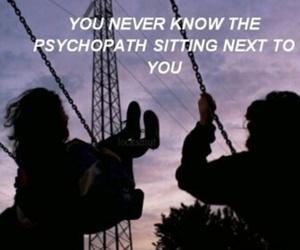 purple and psychopath image