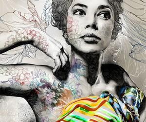 art, gabriel moreno, and drawing image