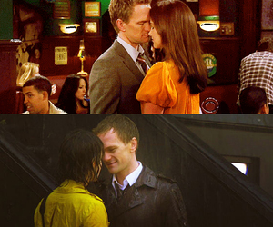 Barney Stinson, how i met your mother, and robin scherbatsky image