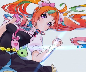 anime, girl, and kiznaiver image