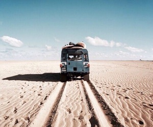 travel, sand, and desert image