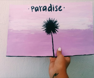 paint, paradise, and summer image