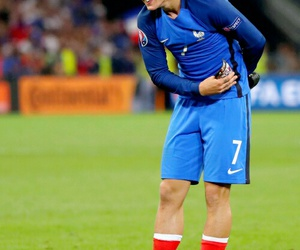 france, griezmann, and football image