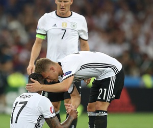 football, germany nt, and bastian schweinsteiger image