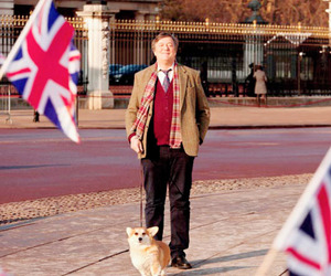 british, Great Britain, and stephen fry image