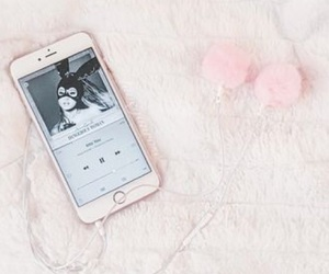 ariana grande, pink, and music image