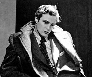 marlon brando, black and white, and actor image