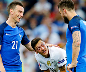 football, mesut Özil, and germany nt image