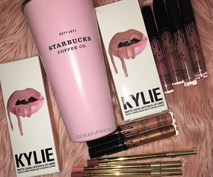 starbucks, kylie, and beauty image