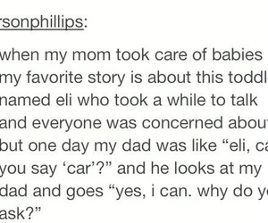 car, dad, and funny image