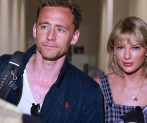 Taylor Swift, tom hiddleston, and love image