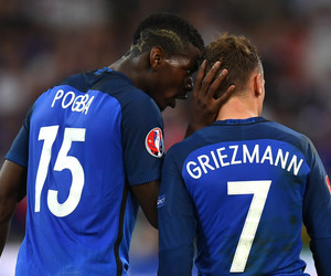 football, antoine griezmann, and euro 2016 image