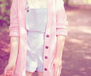 pink, kawaii, and outfit image