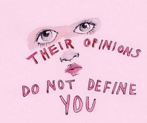 pink, feminist, and quote image