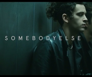 the 1975, somebody else, and matty healy image