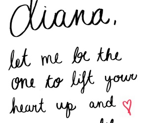 diana, one direction, and midnight memories image