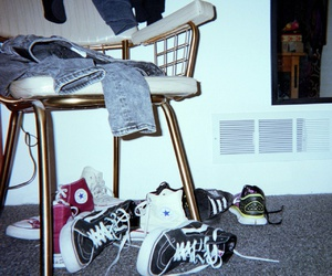 converse, shoes, and theme image