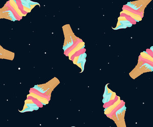 ice cream and wallpaper image