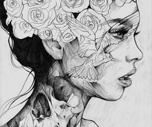 Image of: Personify Mother Girl Art And Drawing Image We Heart It 65 Images About Nature Drawings On We Heart It See More About Art
