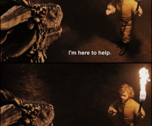 deep, dragon, and funny image