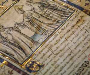 book and medieval image