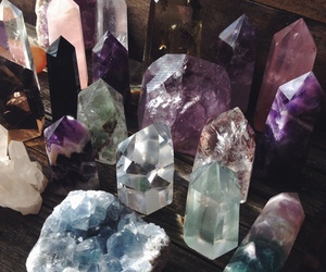 crystal, grunge, and aesthetic image