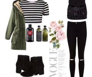 black, Polyvore, and summer image
