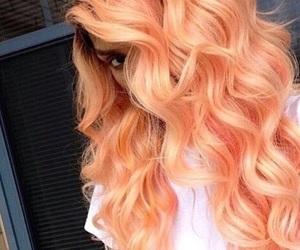 hair, orange, and hairstyle image