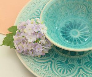 cup, pretty, and blue image