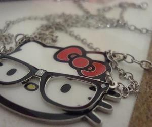 hello kitty, cute, and necklace image