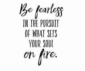 fearless, pursuit, and quote image