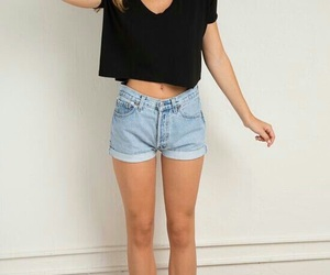 style, summer, and shorts image