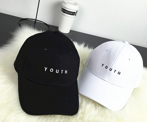 white, black, and youth image