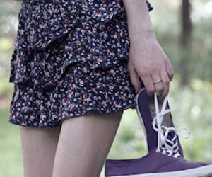 girl, fashion, and shoes image