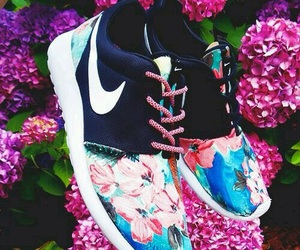 flower and nike image