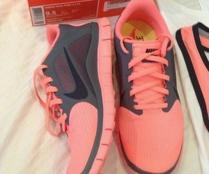 coral and nike image