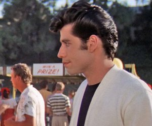 grease, handsome, and John Travolta image