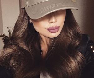 hair, lips, and style image