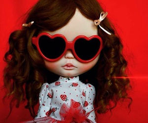 art, blythe doll, and dolls image